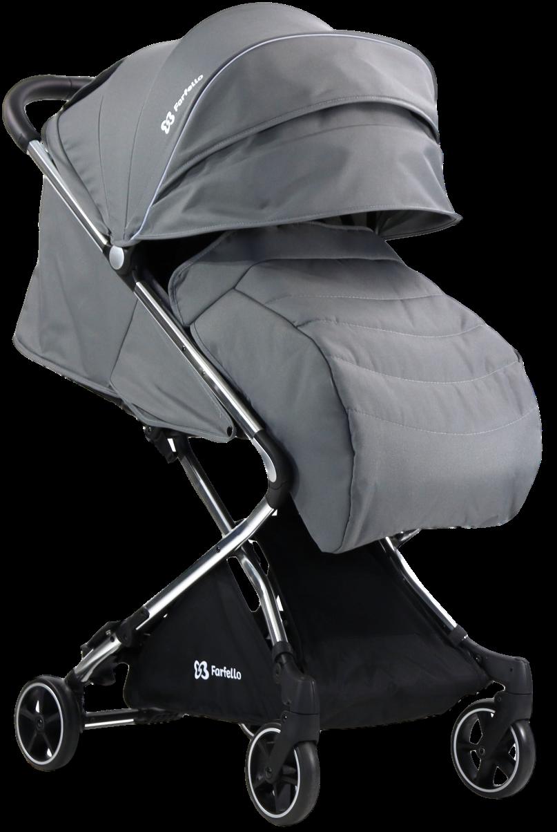 Коляска детская прогулочная Farfello Bliss Grey/ Серый