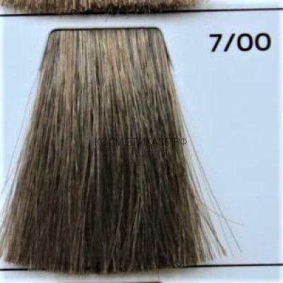 Крем краска для волос 7/00 Русый Интенсивный 100 мл.  Galacticos Professional Metropolis Color