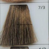 Крем краска для волос 7/3 Русый Золотистый 100 мл.  Galacticos Professional Metropolis Color