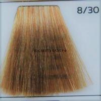 Крем краска для волос 8/30 Светло русый интенсивно-золотистый 100 мл.  Galacticos Professional Metropolis Color