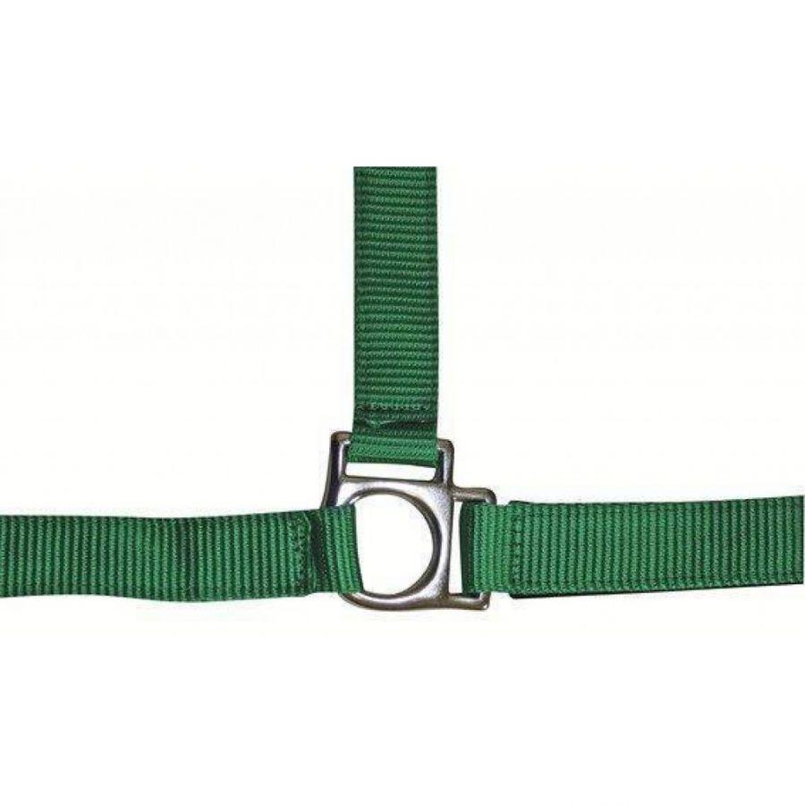 Недоуздок -Stars- HKM с мягкой подложкой зеленый FULL