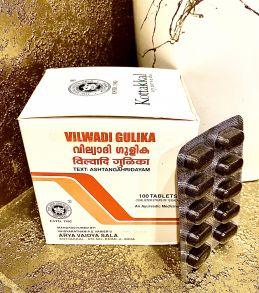 Вильвади гулика Vilwadi Gulika Kottakkal 100 таб