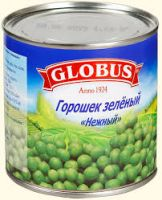Горошек зеленый GLOBUS, 425мл