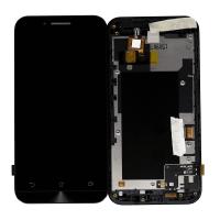 LCD (Дисплей) Asus ZC451TG ZenFone Go (в сборе с тачскрином) (в раме) (black) Оригинал