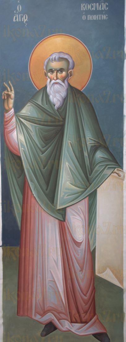 Икона Косма Маиумский преподобный