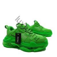 Кроссовки Balenciaga женские зеленые купить в интернет магазине в Москве