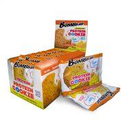 Низкокалорийное протеиновое печенье от Bombbar 40 гр АПЕЛЬСИН-ИМБИРЬ
