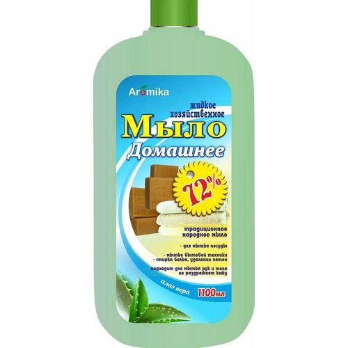 """Жидкое хоз.мыло 72% Домашнее """"Алоэ Вера"""""""