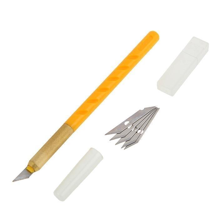 Нож макетный FIT, корпус пластик ABS