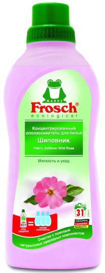 Frosch Концентрированный ополаскиватель для белья Шиповник 0,75 л