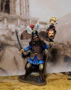 Кельтский воин 5 век до н.э. Оловянная. Роспись. Авторская работа