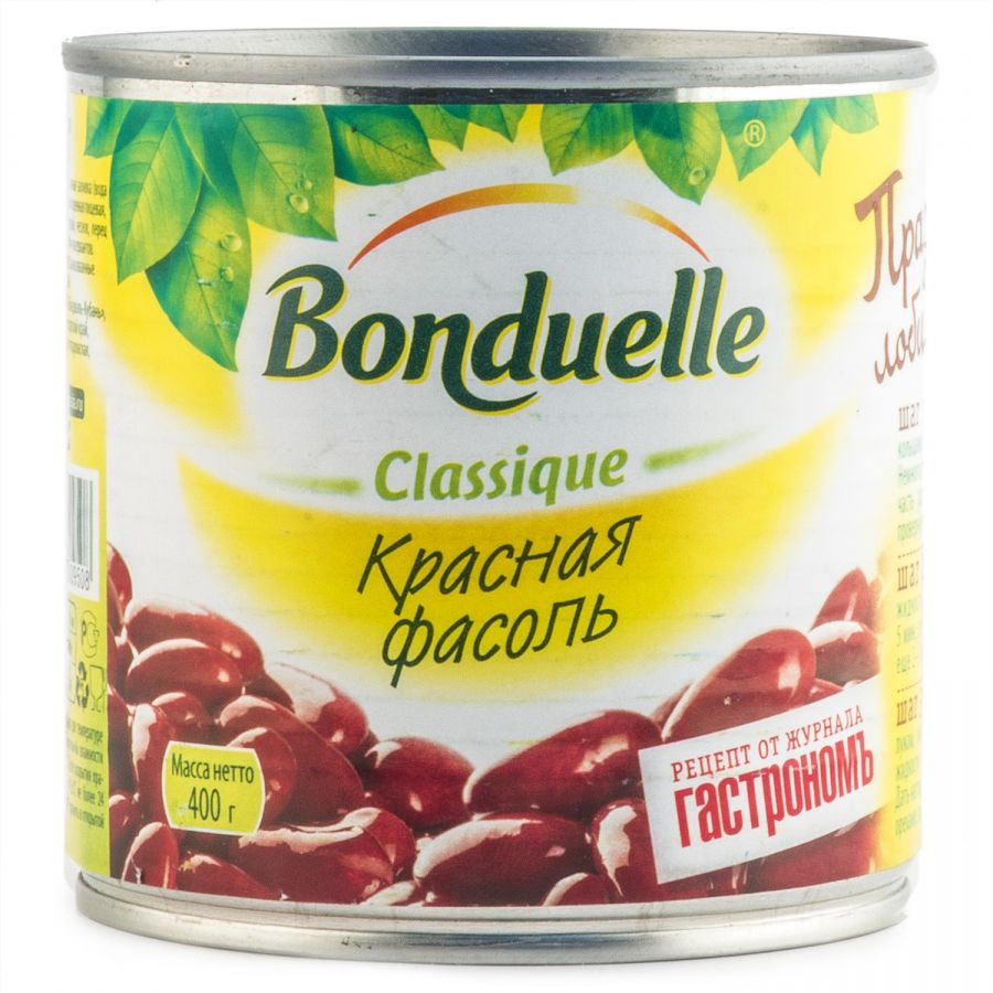 Фасоль красная BONDUELLE, 400 гр