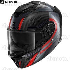 Мотошлем  Shark Spartan GT Carbon Tracker, Черно-серый
