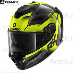Мотошлем  Shark Spartan GT Carbon Shestter, Черно-желтый