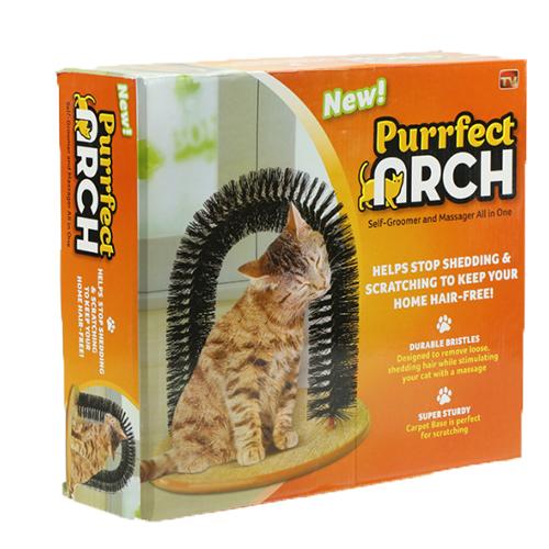 Когтеточка со щеткой Purrfect Arch (Пуррфект Арч)