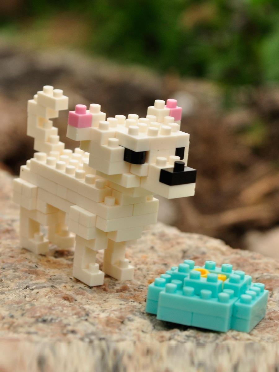 Конструктор Wisehawk & LNO Чихуахуа 116 деталей NO. B21 Chihuahua Gift Series