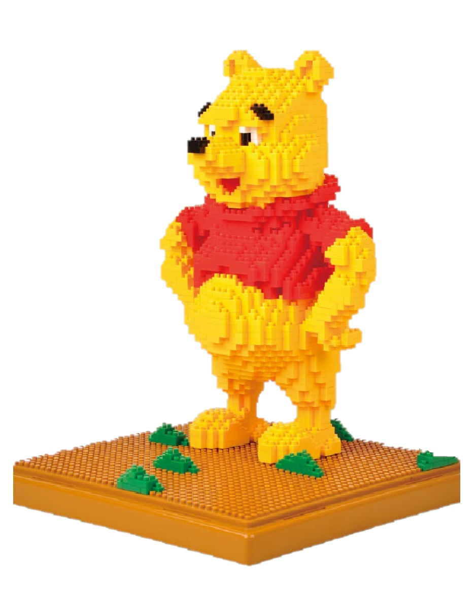 Конструктор Wisehawk & LNO Винни Пух 1650 деталей NO. 188 Winnie the Pooh Gift Series