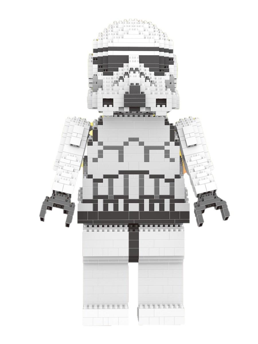 Конструктор Wisehawk & LNO Имперский штурмовик 1050 деталей NO. 2484 Imperial Stormtrooper Gift Series