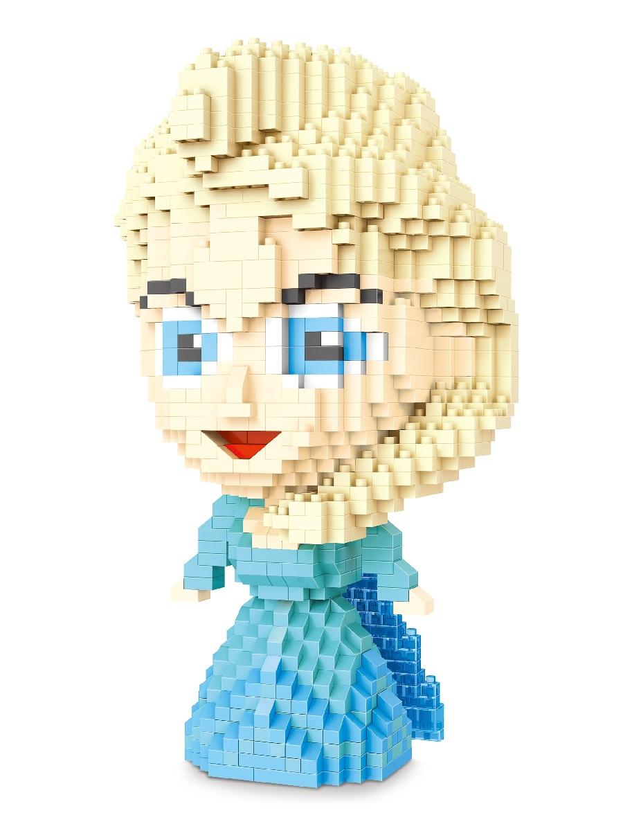 Конструктор Wisehawk & LNO Эльза Холодное сердце 1165 деталей NO. 2473 Elsa Gift Series