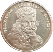 100 злотых Польша 1986 - Король Владислав I Коротышка/Локитек (Władysław I Łokietek) 1320-1333
