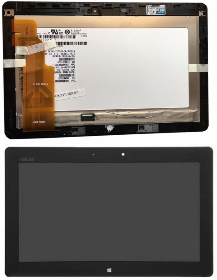 LCD (Дисплей) Asus TF600T VivoTab RT (в сборе с тачскрином) (в раме) (black) Оригинал