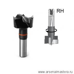 Сверло чашечное правое для присадочного станка DIMAR D 20 x 55,5 L 57,5 хвостовик 10 x 26 присадка RH 2031017
