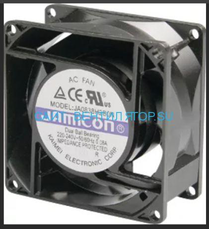 Вентилятор 80x38 220в JAMICON JA0838H2B010N-L-R