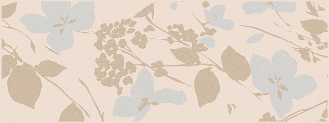 MLD/B67/15084 | Декор Вилланелла Цветы беж