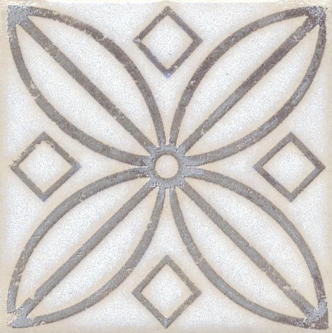 STG/A402/1266 | Вставка Амальфи орнамент коричневый