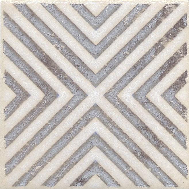 STG/A403/1266 | Вставка Амальфи орнамент коричневый