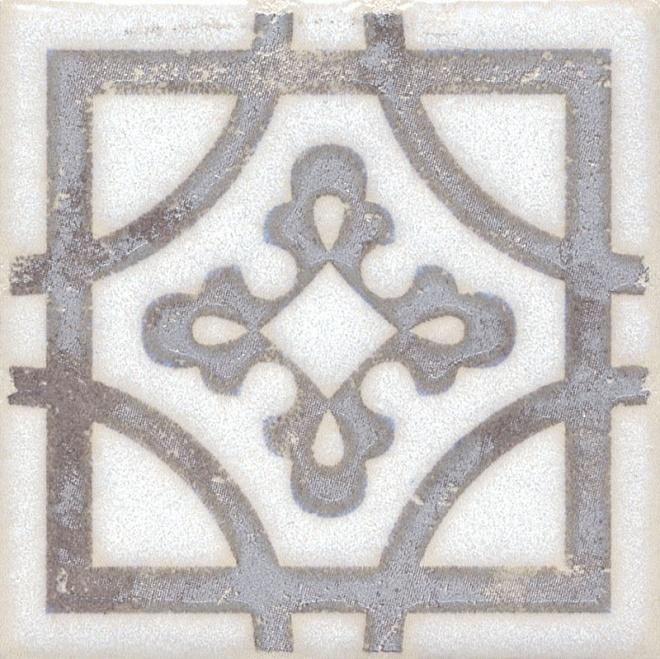 STG/A406/1266 | Вставка Амальфи орнамент коричневый