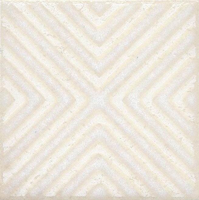 STG/B403/1266 | Вставка Амальфи орнамент белый
