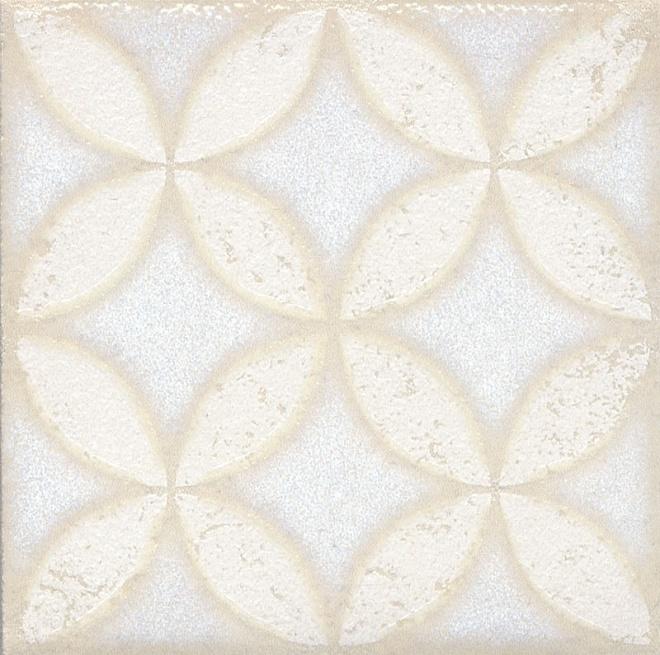 STG/B401/1266 | Вставка Амальфи орнамент белый