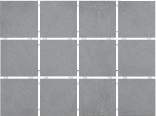 1271 | Амальфи серый, полотно 30х40 из 12 частей 9,9х9,9