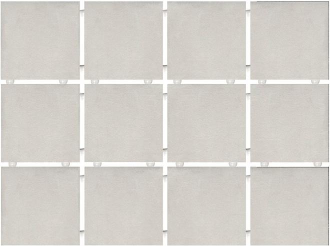 1270 | Амальфи серый светлый, полотно 30х40 из 12 частей 9,9х9,9