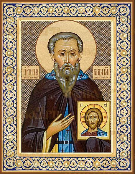 Икона Святой преподобный Никита Исповедник