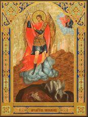 Икона Архангел Михаил с копьём
