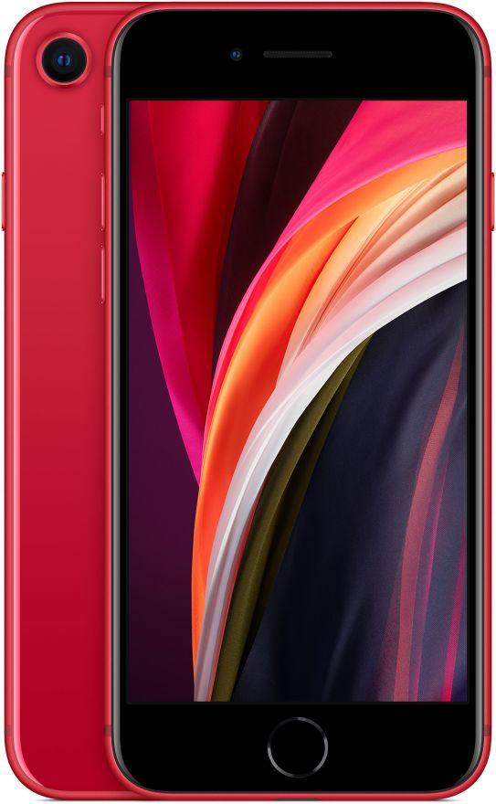 iPhone SE 64 Gb, Красный, 2020 (РСТ)