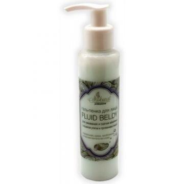 Гель-пенка для умывания лица и снятия макияжа FLUID BELDY с муцином улитки для нормальной, сухой, гиперчувствительной кожи
