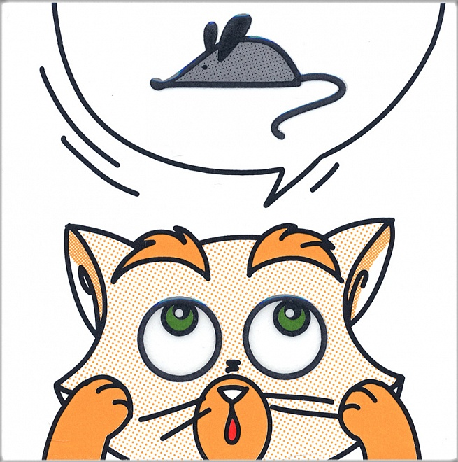 NT/A132/5009 | Декор Кошки-Мышки. Мышка