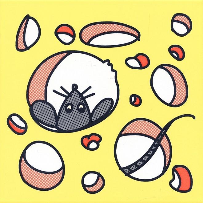 NT/A137/5109 | Декор Кошки-Мышки. Сыр и Мышка