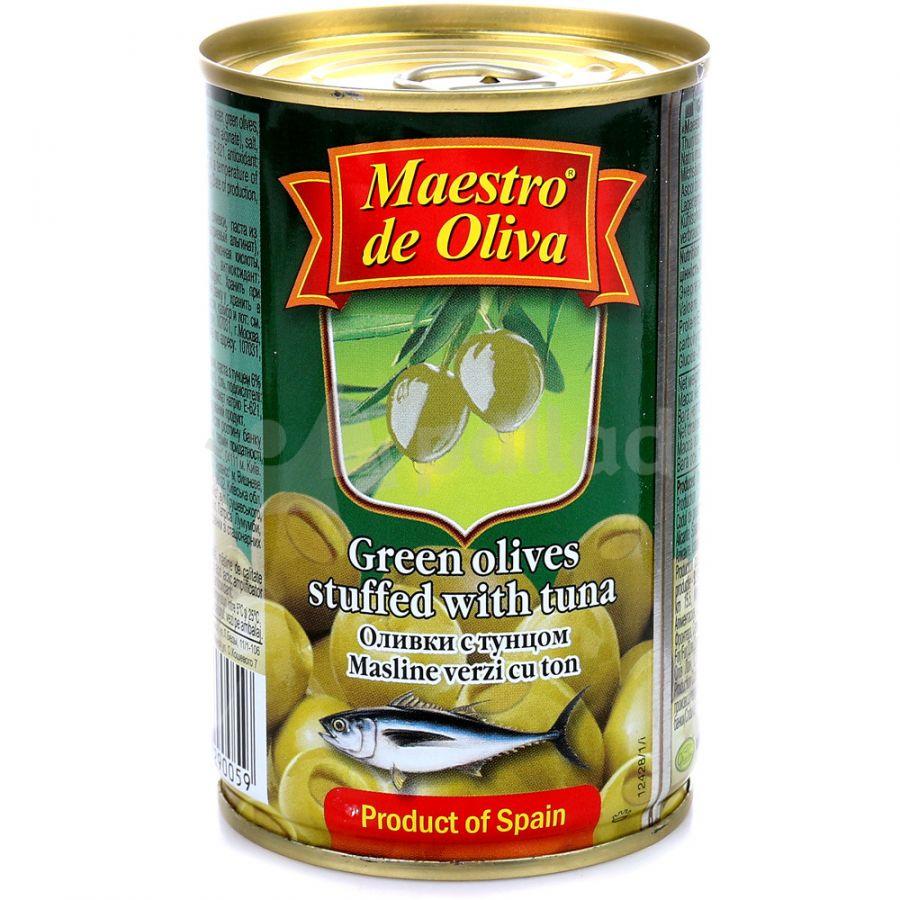 Оливки с тунцом MAESTRO DE OLIVA, 300 г