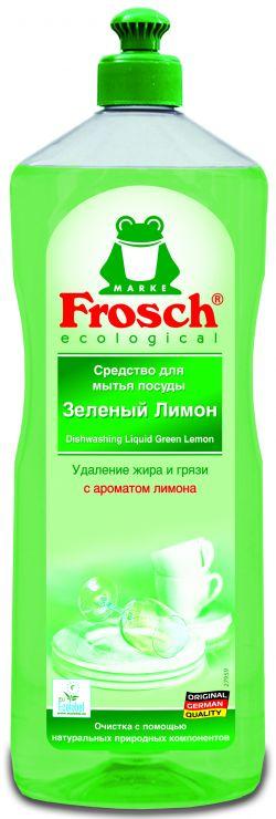 Frosch Средство для мытья посуды Зелёный лимон 1 л