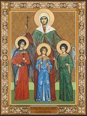 Икона Вера, Надежда, Любовь и их мать София