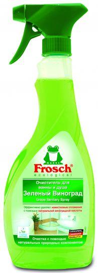 Frosch Очиститель для ванны и душа Зелёный виноград 0,5 л