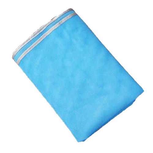 Пляжный коврик Sand Free Mat, 200х150 см. Цвет: голубой.