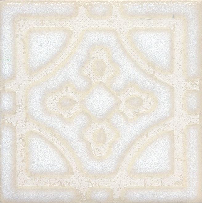 STG/B406/1266 | Вставка Амальфи орнамент белый