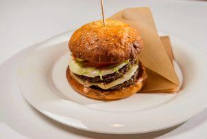 Двойной чизбургер 513г