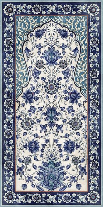 VT/A22/SG5918R   Декор Орнамент синий обрезной