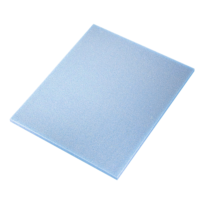 Sia ABRAFOAM Абразивная губка Flat pad Superfine, односторонняя, 115мм. x 140мм. x 5мм., P1000